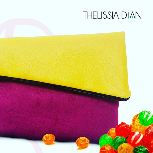 One of a kind clutch purse for that fashionable lady.