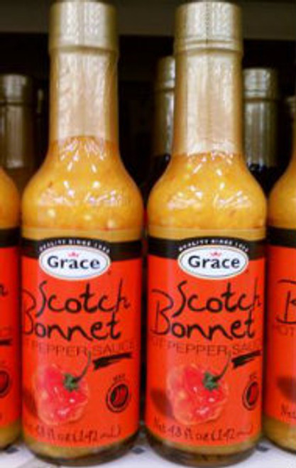 Grace Scotch Bonnet Pepper Sauce