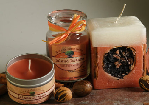 Island Dreams candle set