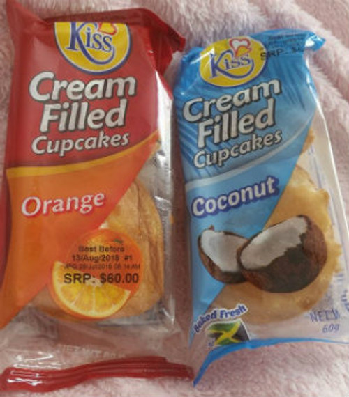 Cream filled kiss cakes pk of 3