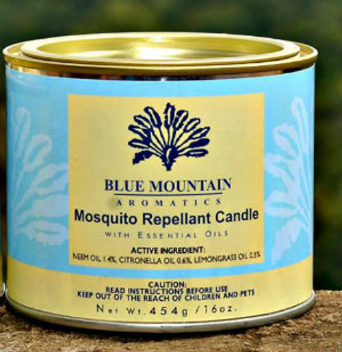 16 oz Mosquito Repellent Candle (neem)