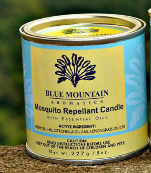 8 oz Mosquito Repellent Candle (neem)