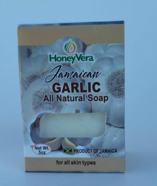 Honey Vera Garlic soap