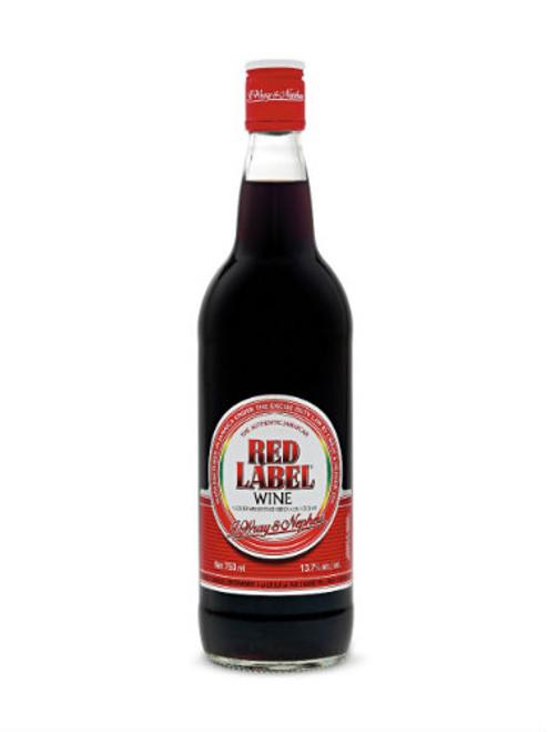 750 ml Red Label Wine