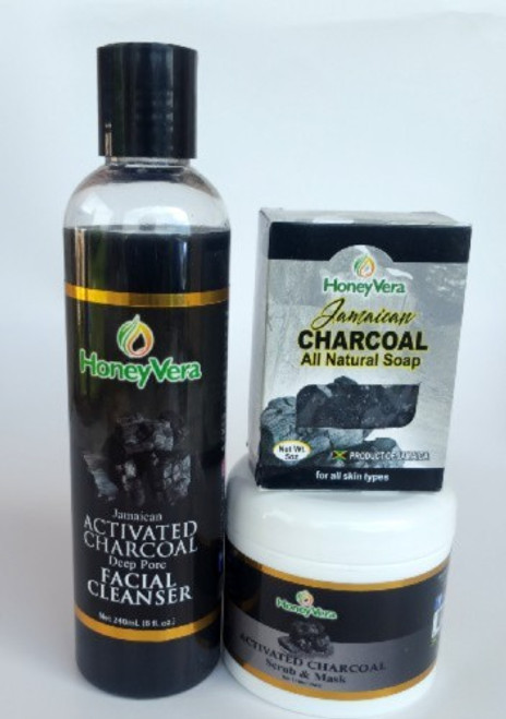 Activated charcoal set