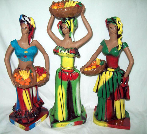 Market lady figurine (Med)