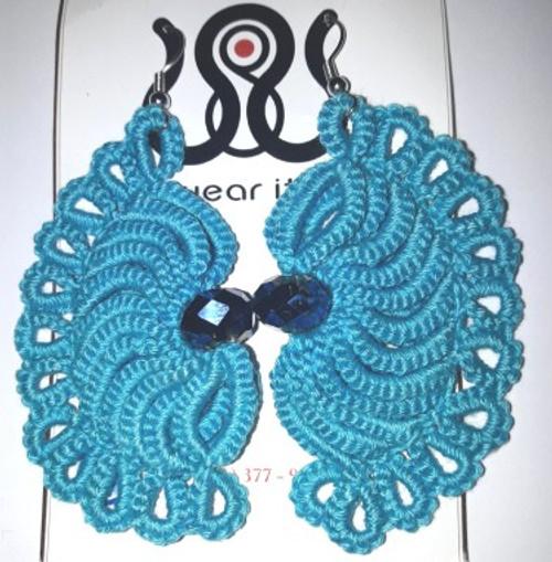 Assorted crochet earrings (Sml)