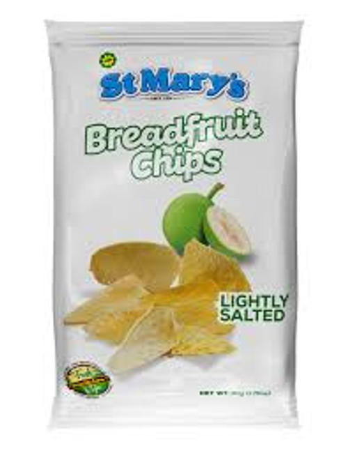 St Mary's Breadfruit chips 71g  set of 3