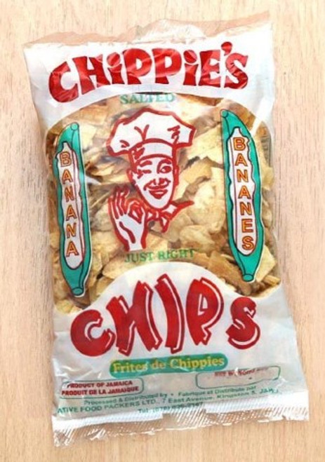 Lrg chippies banana chips 140g Pk of 3