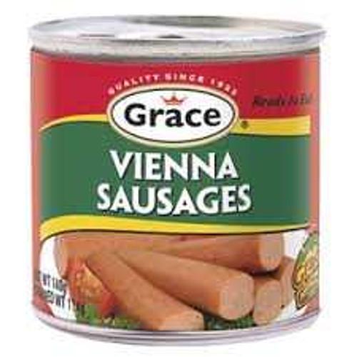 GRACE VIENNA SAUSAGE 140G  set of 3