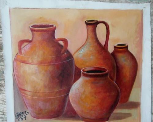Old Spanish Jars