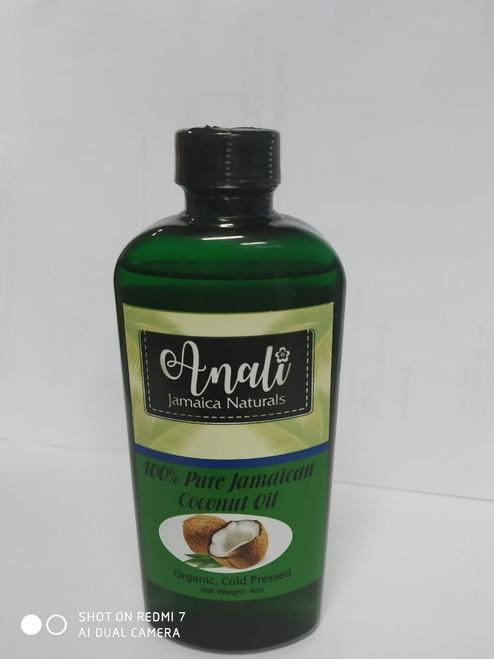 Pure Jamaican coconut  oil 4 oz
