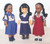 Jamaican School Girl Dolls