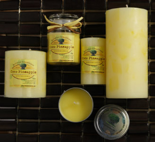 Coco Pineapple Candle Set (B)