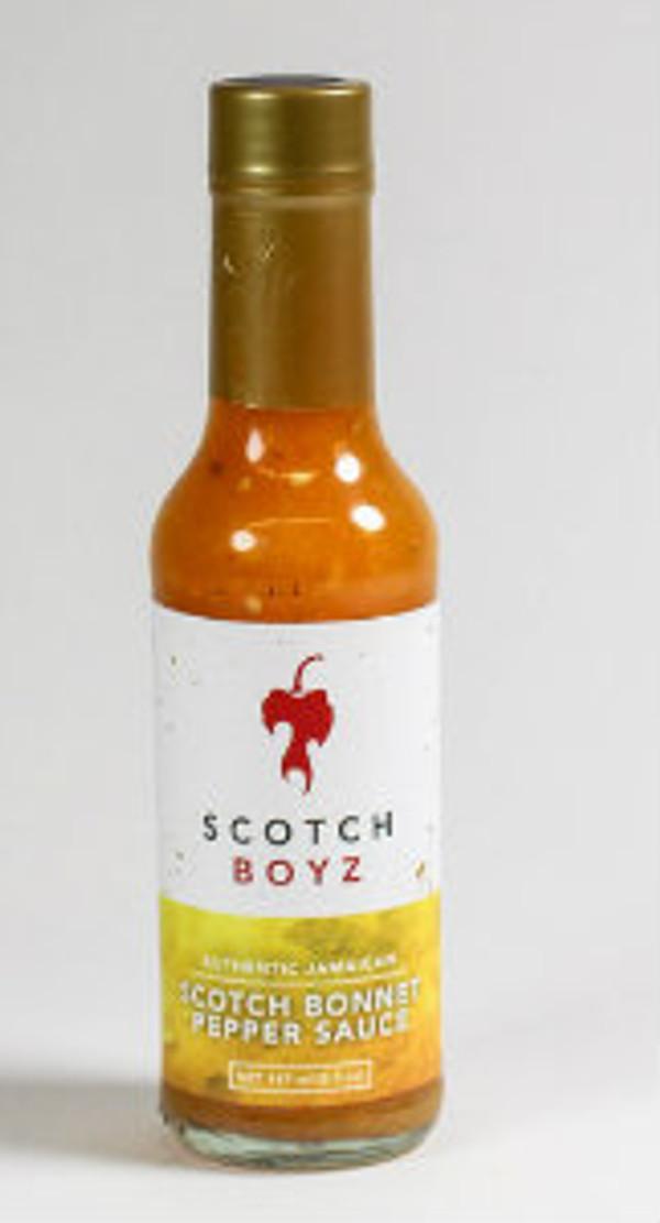 SCOTCH BONNET PEPPER SAUCE (Scotchboyz)