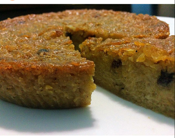 6 inch Sweet potato pudding by Fari