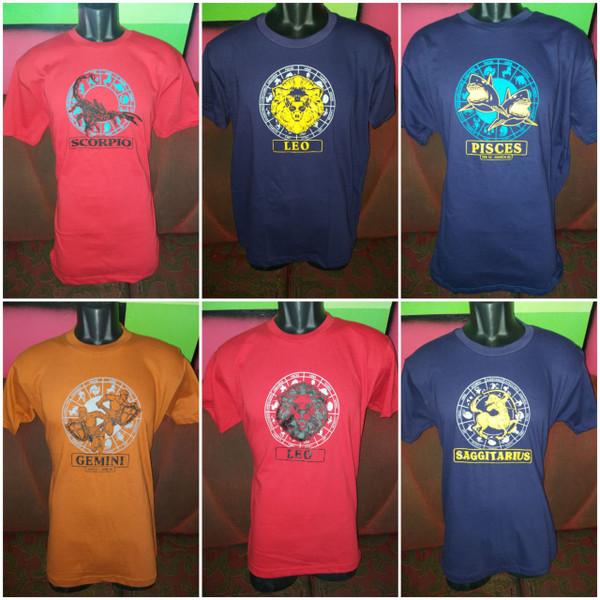 Zodiac T shirts  Male