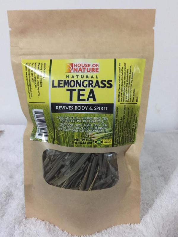 Natural Lemongrass Tea pk