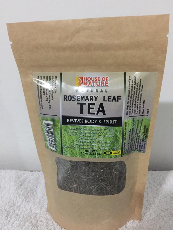 Natural Rosemary Tea pk