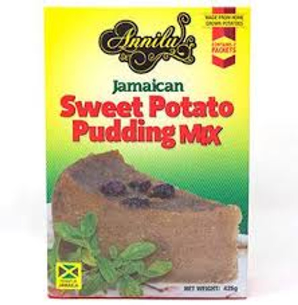 Annilu Jamaican Sweet Potato Pudding  Mix