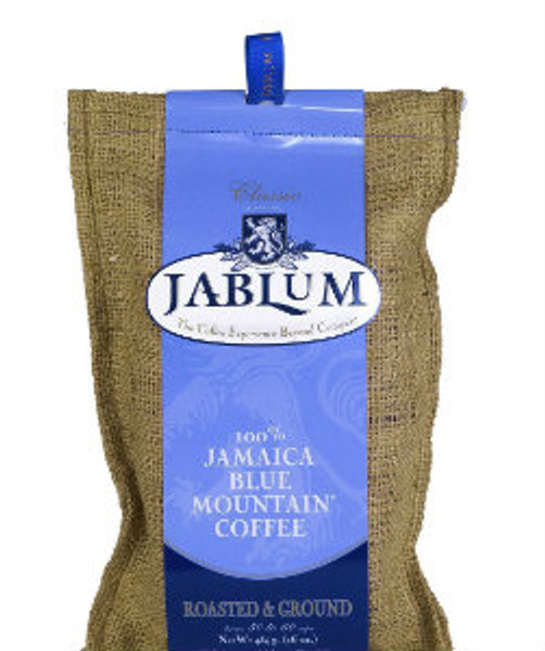 Savour the timeless pleasure of Jablum Classic 100% Jamaica Blue Mountain Coffee- exquisite, aromatic and among the most sought after coffees in the world. Grown under ideal conditions on the world famous Jamaica Blue Mountains, then carefully selected from the best beans, bolstered by a rich tradition and exacting roasting standards by the Mavis Bank Coffee Factory to produce a unique taste that is - mysterious, tantalizing, guaranteeing pleasure and consistency in each cup.