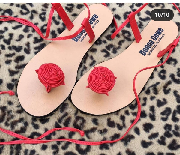 Rose  Sandals by Donna