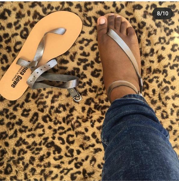 Side slip Sandals by Donna