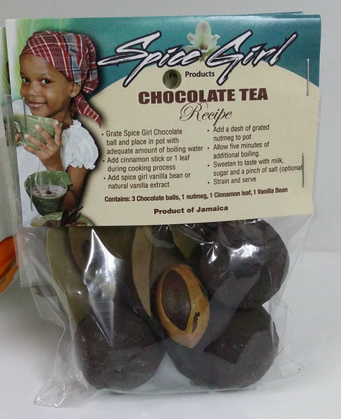 Spice girl Chocolate tea