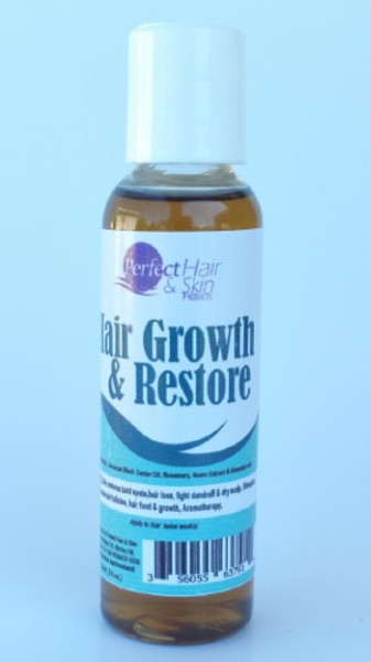 2 oz Growth & Restore oil