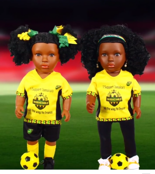 Patois Reggae girl Sportswear doll