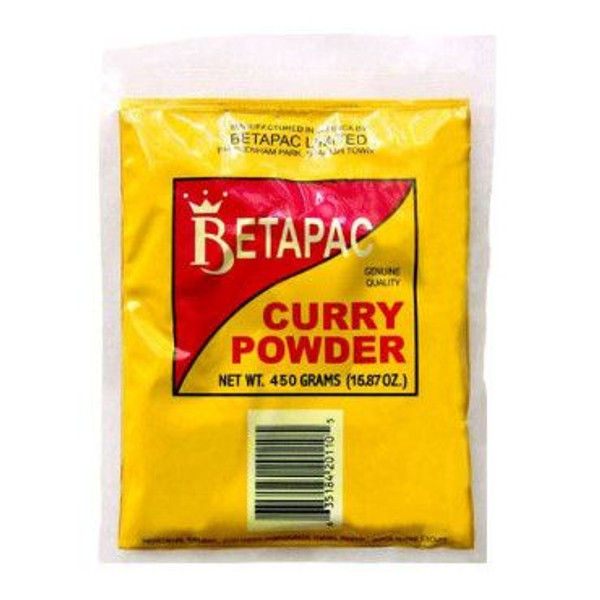 450G  BetaPac Jamaican curry Powder