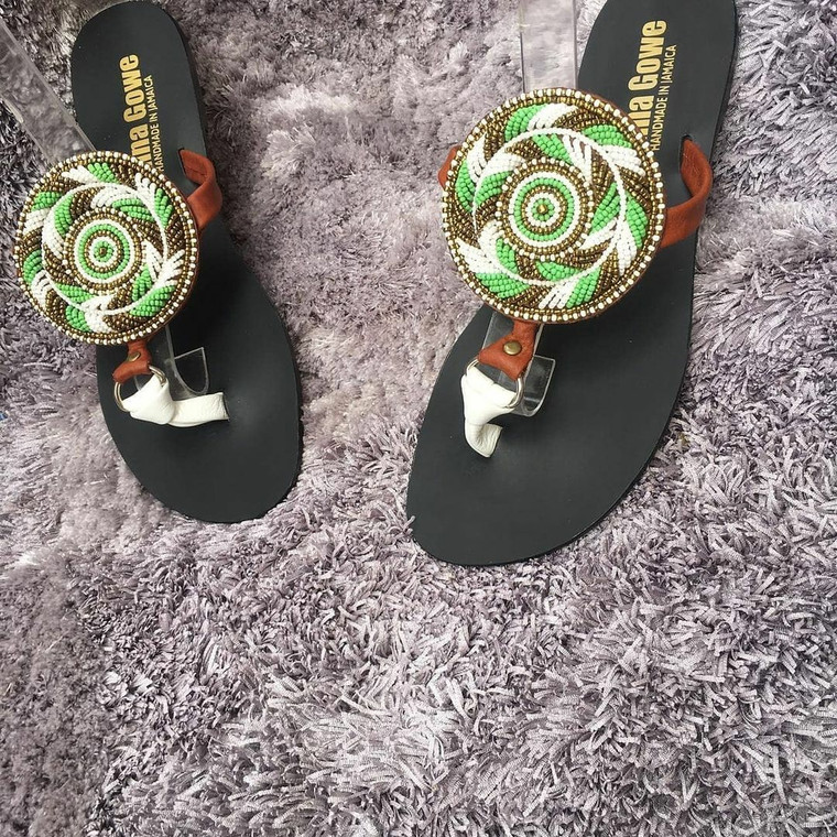Pin Wheel  Sandals by Donna