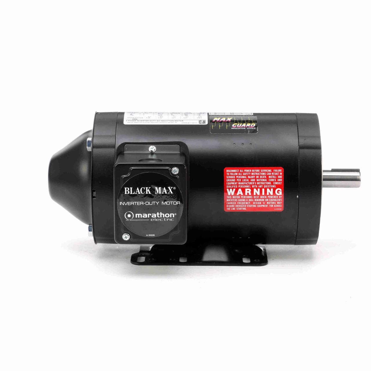 Y536 Black MAX 1000:1 Constant Torque 1 HP