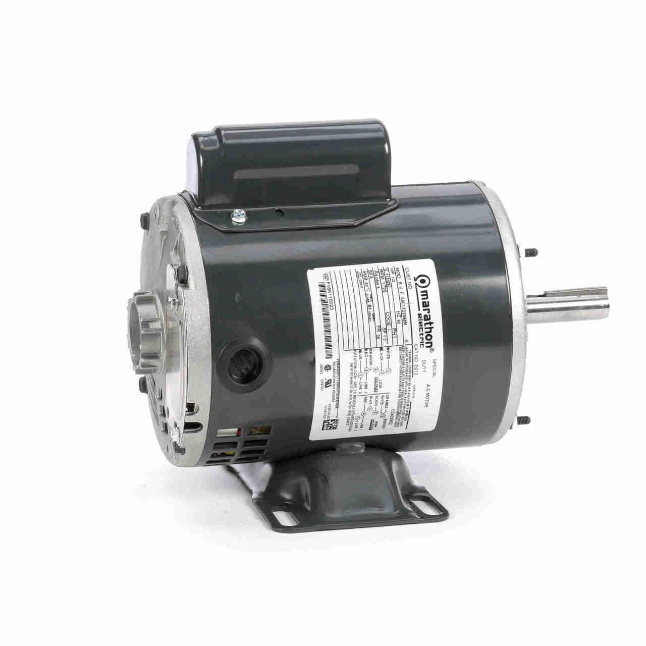 J077 Swimming Pool Pump Single Phase Motor 1-1/2 HP