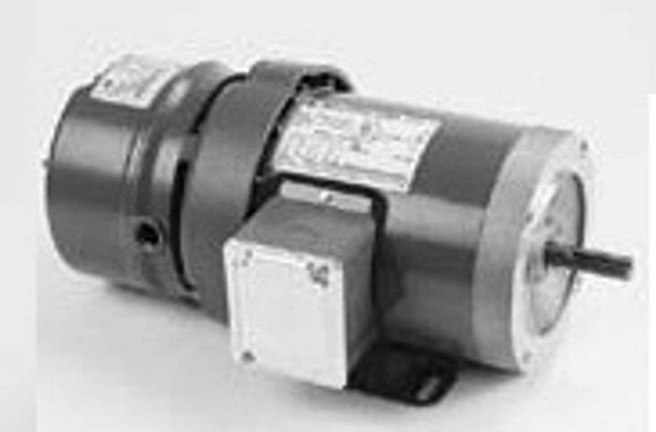 D450 Brake Motor, Three Phase Totally Enclosed C-Face Footed
