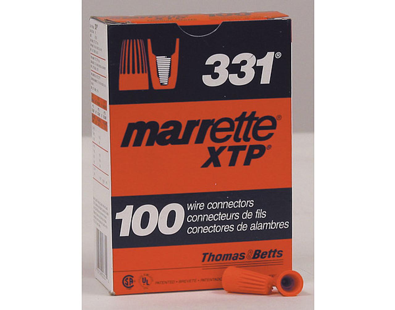 29-331 Marrett Orange Wire Connectors 100 count