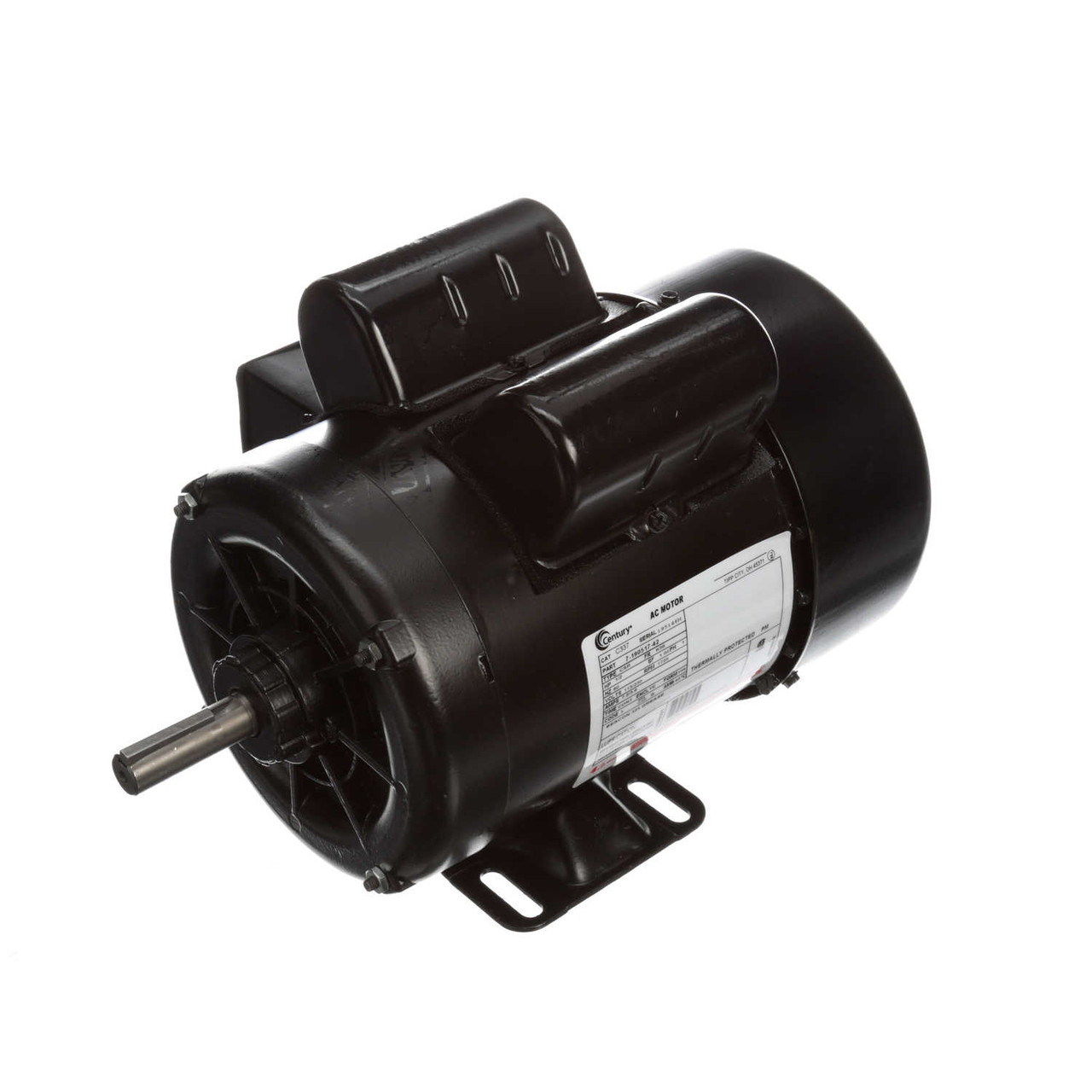C337 Single Phase Capacitor Start TEFC Rigid Base Motor 1/2 HP