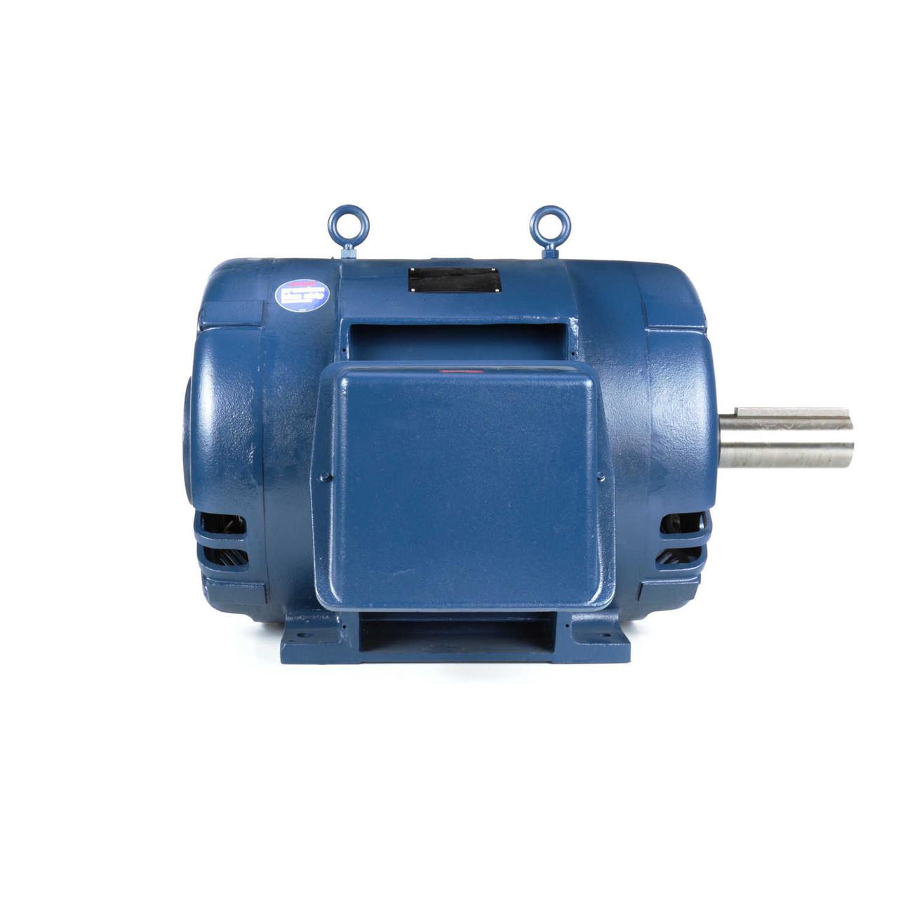 MU273 Three Phase Dripproof Rigid Base Motor 125 HP