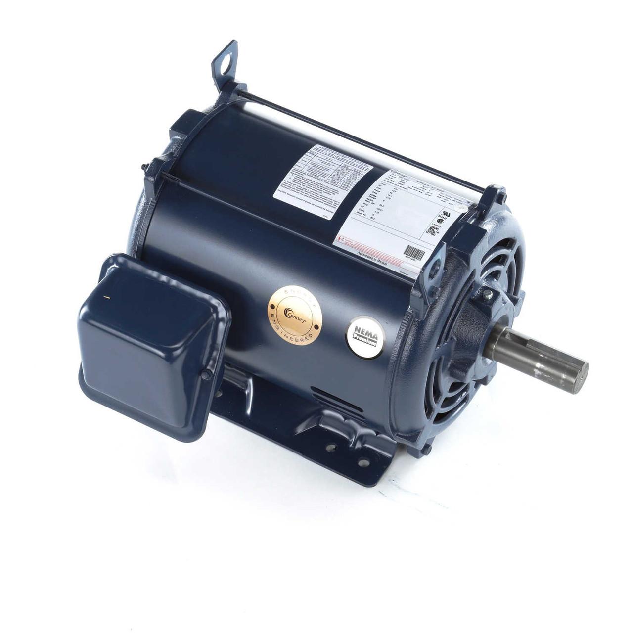 E927M2 General Purpose Three Phase Dripproof Motor 15 HP