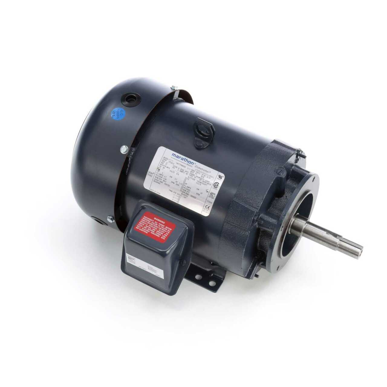 GT3108 JM Close-Coupled Pump Three Phase Totally Enclosed Motor 2 HP