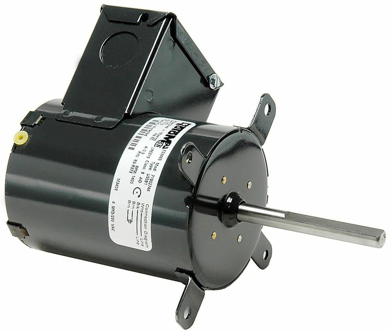 Dayton Greenhouse Fan Motor (7190-1004) 1/15 hp 1400 RPM CW 115V # R3-R373