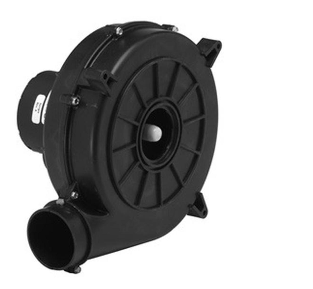 (opened box) Nordyne Furnace Draft Inducer blower 115V (7021-11227, 6219490) Fasco # A122