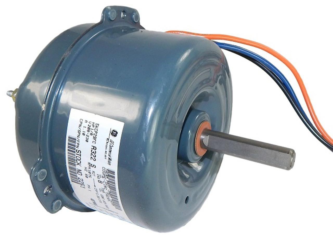 E-G2251, 1/8 HP, 208/230 Volts, 5in. Cap-Can Condenser Fan/Heat Pum