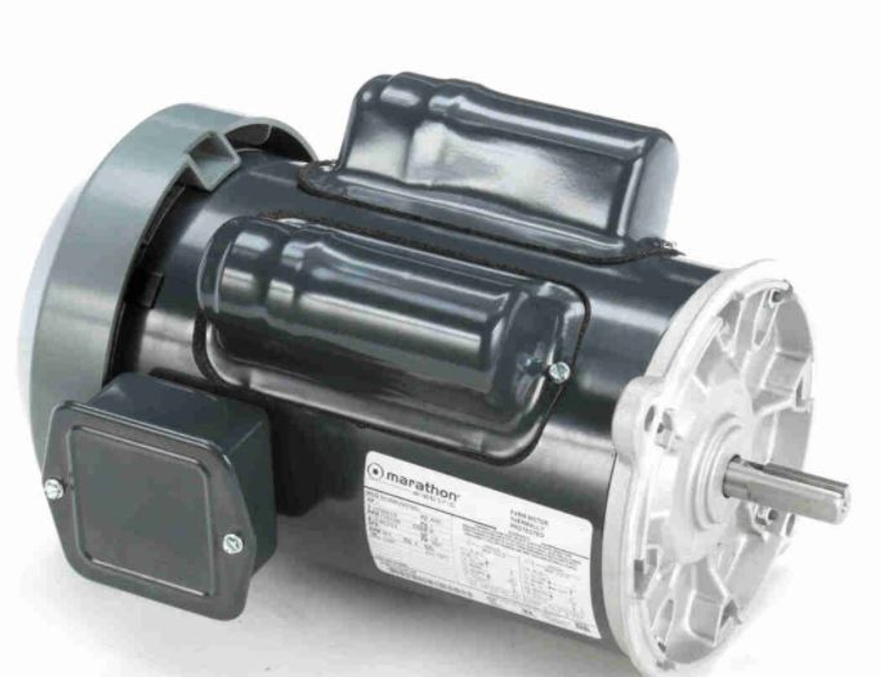 MC1294A Farm Duty Single Phase Totally Enclosed  Auger Drive Motor 1 HP