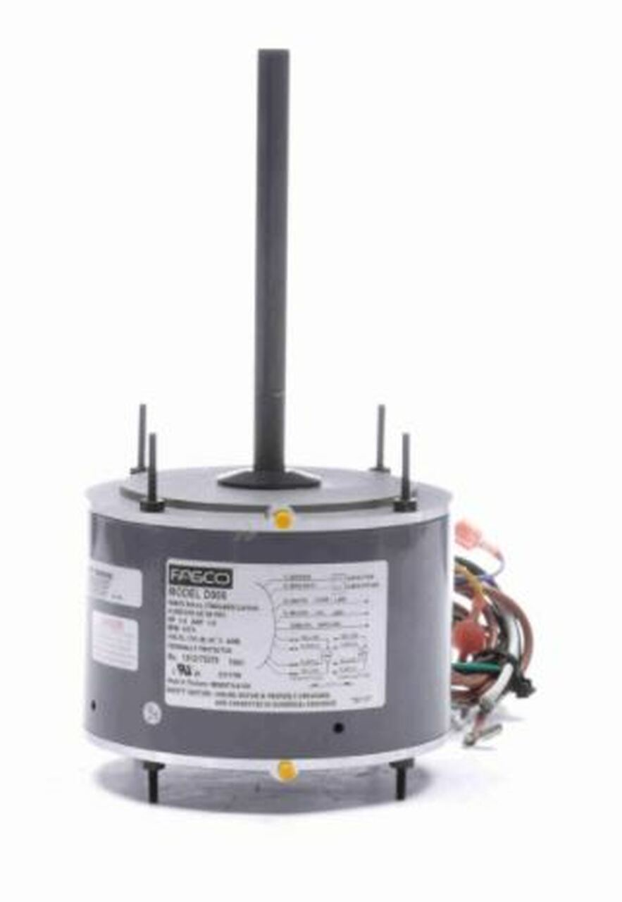 "E-D909 (open box) Fasco 1/4 hp 1075 RPM 5.6"" Diameter 208-230V"