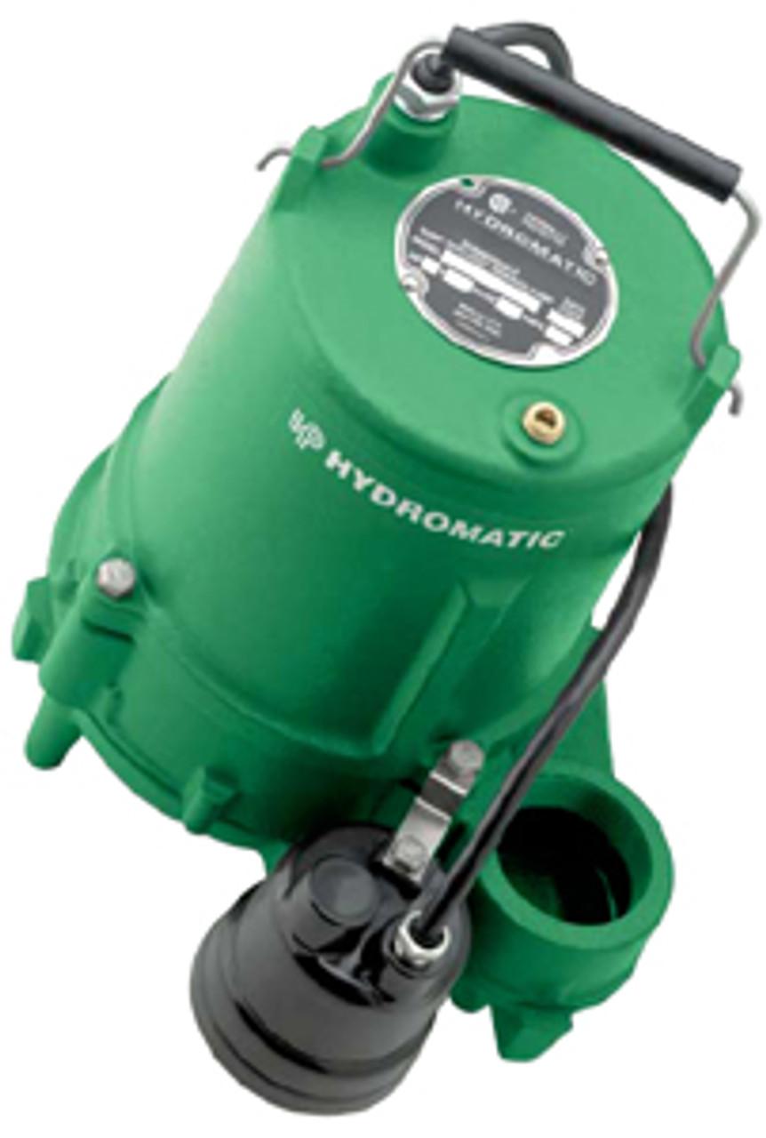 Msp40a110 Myers    Hydromatic High Capacity Sump  Effluent Sewage Pump