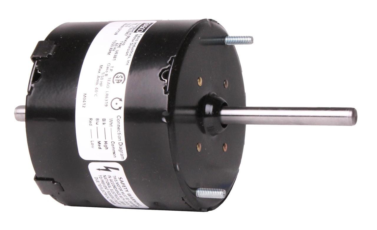 D1139 3.3 In. Diameter General Purpose Motor 1/50-1/80-1/125 hp on