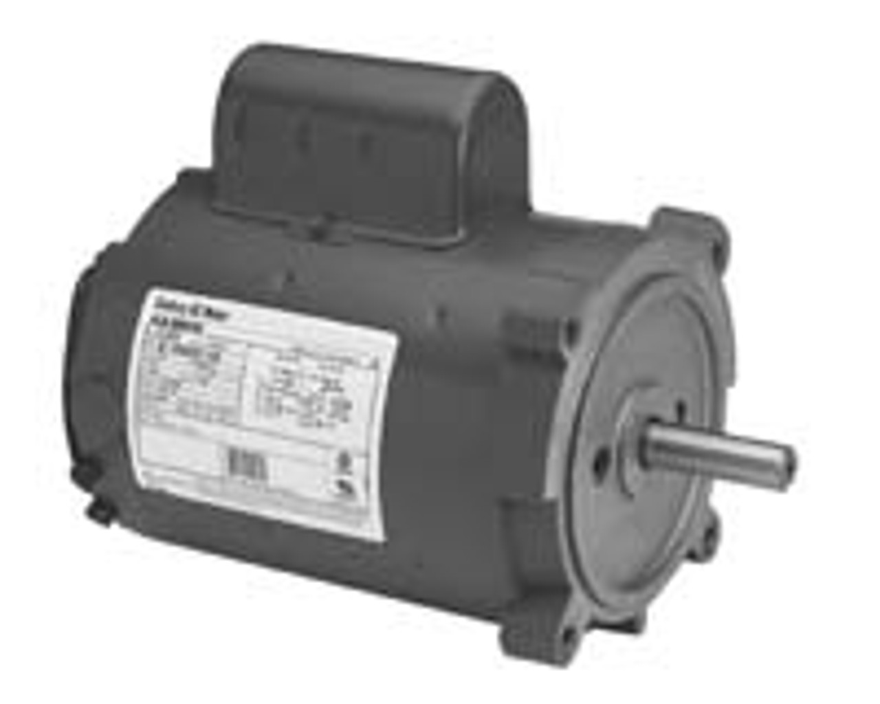 B382 Capacitor Start TEFC C-Face Motor 3 HP