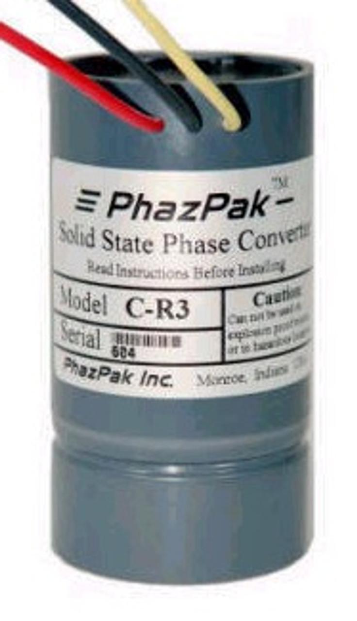 E-R3 3 h.p. High efficiency phase converter