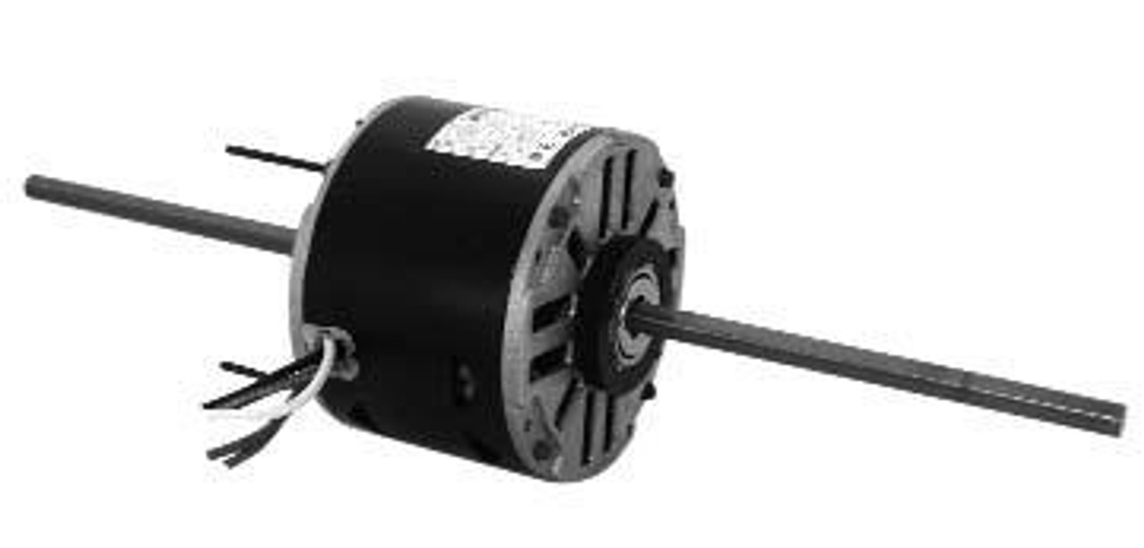 "9681 5-5/8"" Diameter Double Shaft Fan/Blower Motor 1/8 HP"